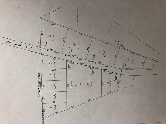 HOME SITE TRACTS OF LAND IN TENNESSEE COLONY, TEXAS
