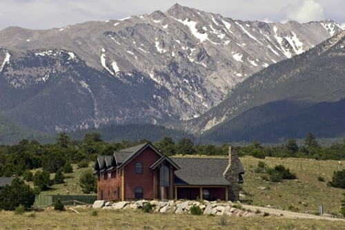 Large Acreage Home Colorado Mountains Bordering BLM Land