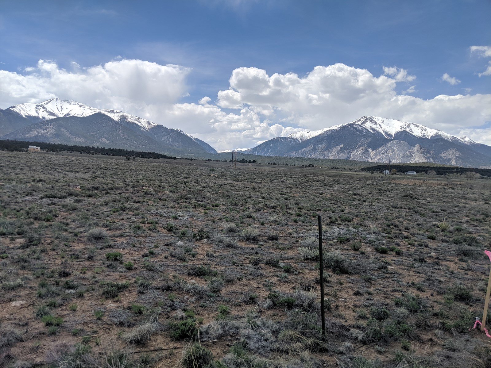 Open Land Chaffee County, Colorado Mountain Views For Sale