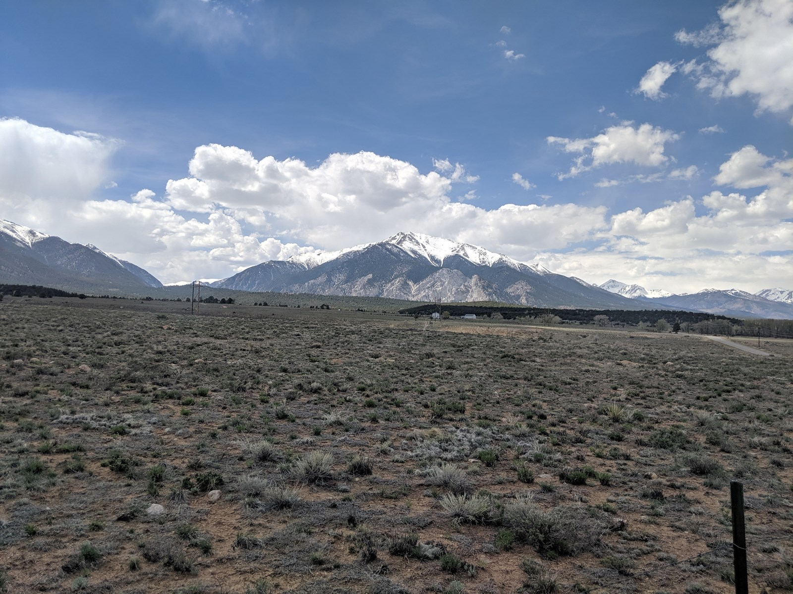 Rural Chaffee County Building Site Mountain Views Acreage