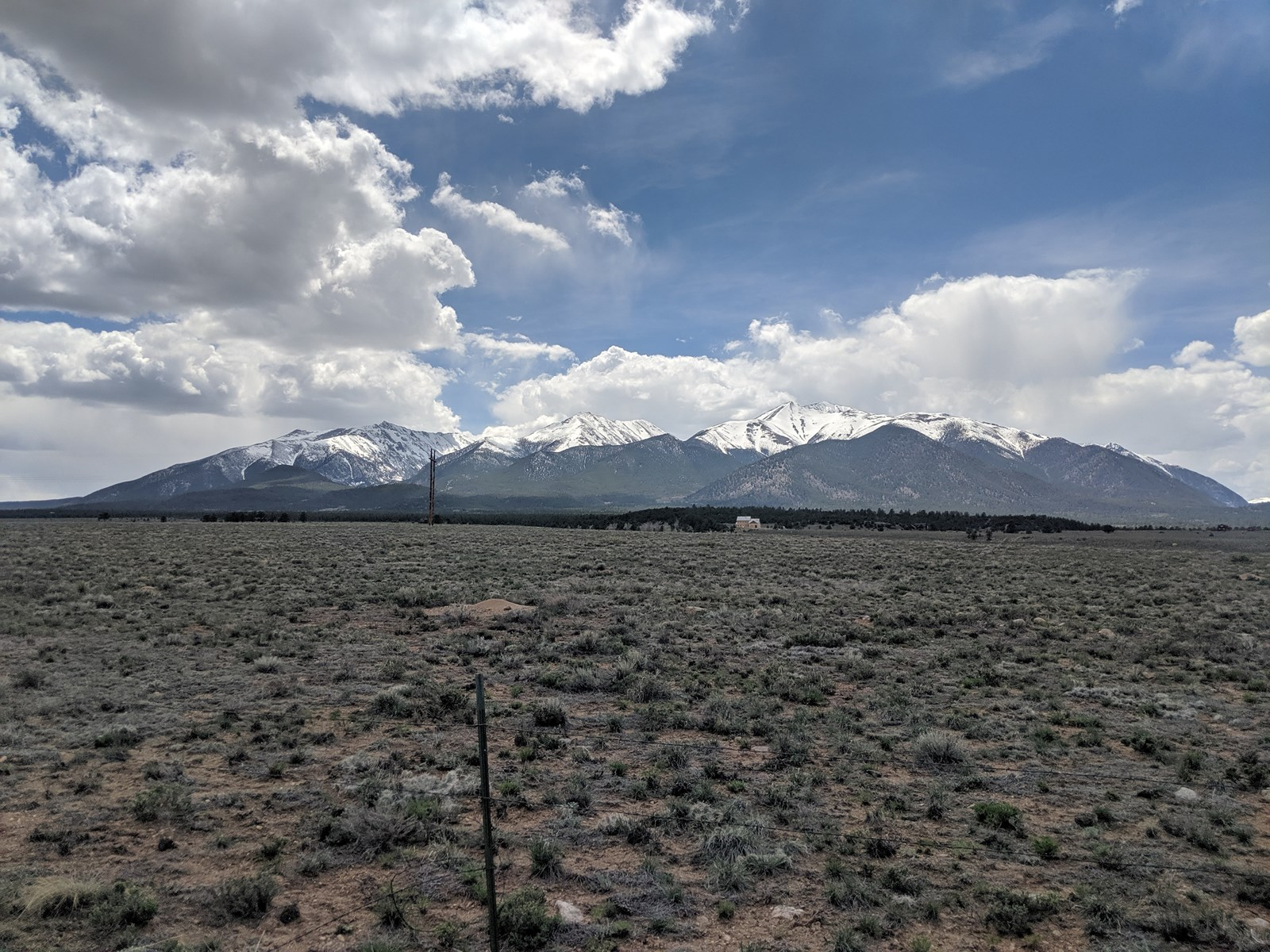 Mountain Views Acreage Country Home Site Collegiate Peaks