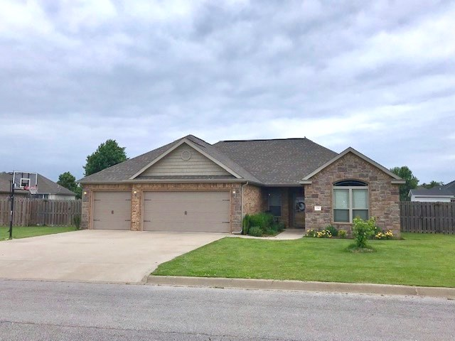 Prairie Grove Ar 4 Bedroom 2 Bath House in Town For Sale