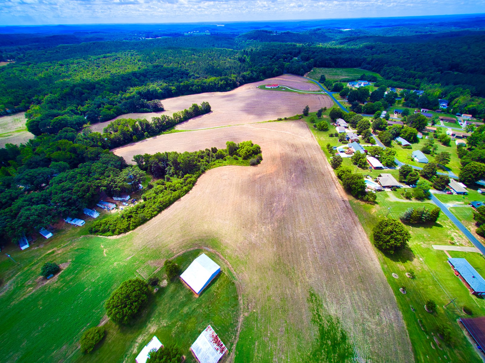 Over 40 Acres For Sale in Albemarle NC