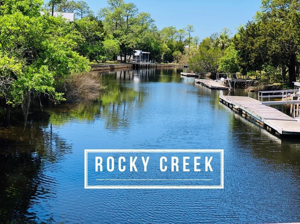 Gulf Access Acreage in Steinhatchee, FL on Rock Creek w/dock