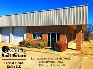 COMMERCIAL PROPERTY, STOCKTON, MISSOURI, PRICE REDUCED!!!