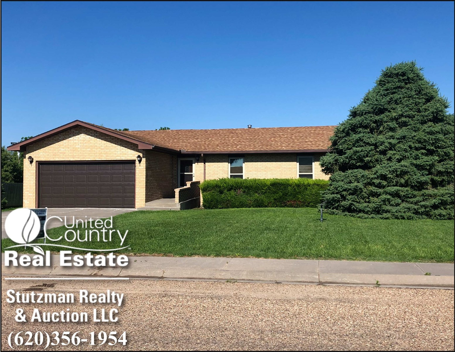 AFFORDABLE BRICK HOME FOR SALE IN ULYSSES, KS