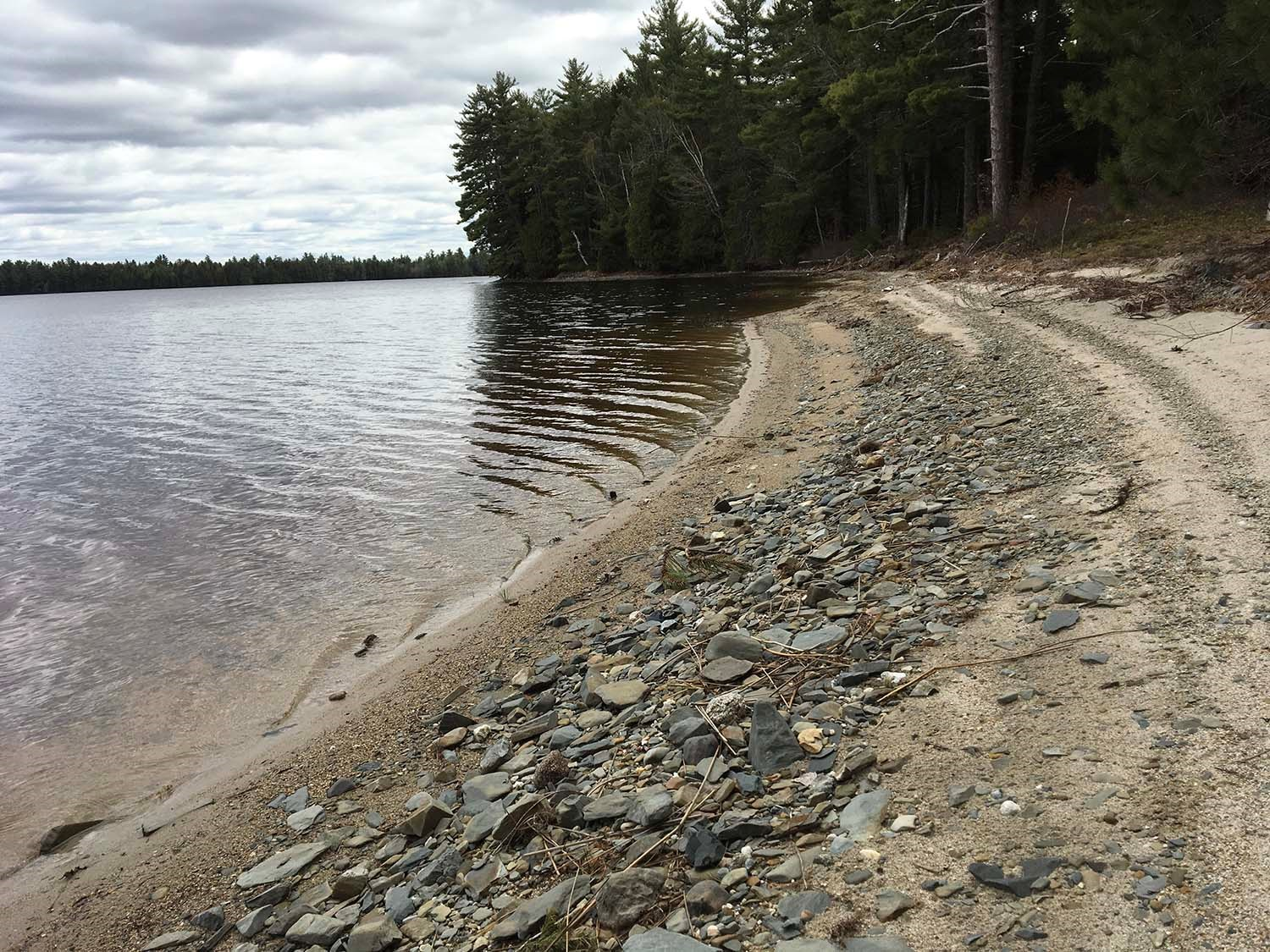 Remote Off Grid Lakefront Cabin For Sale In Maine