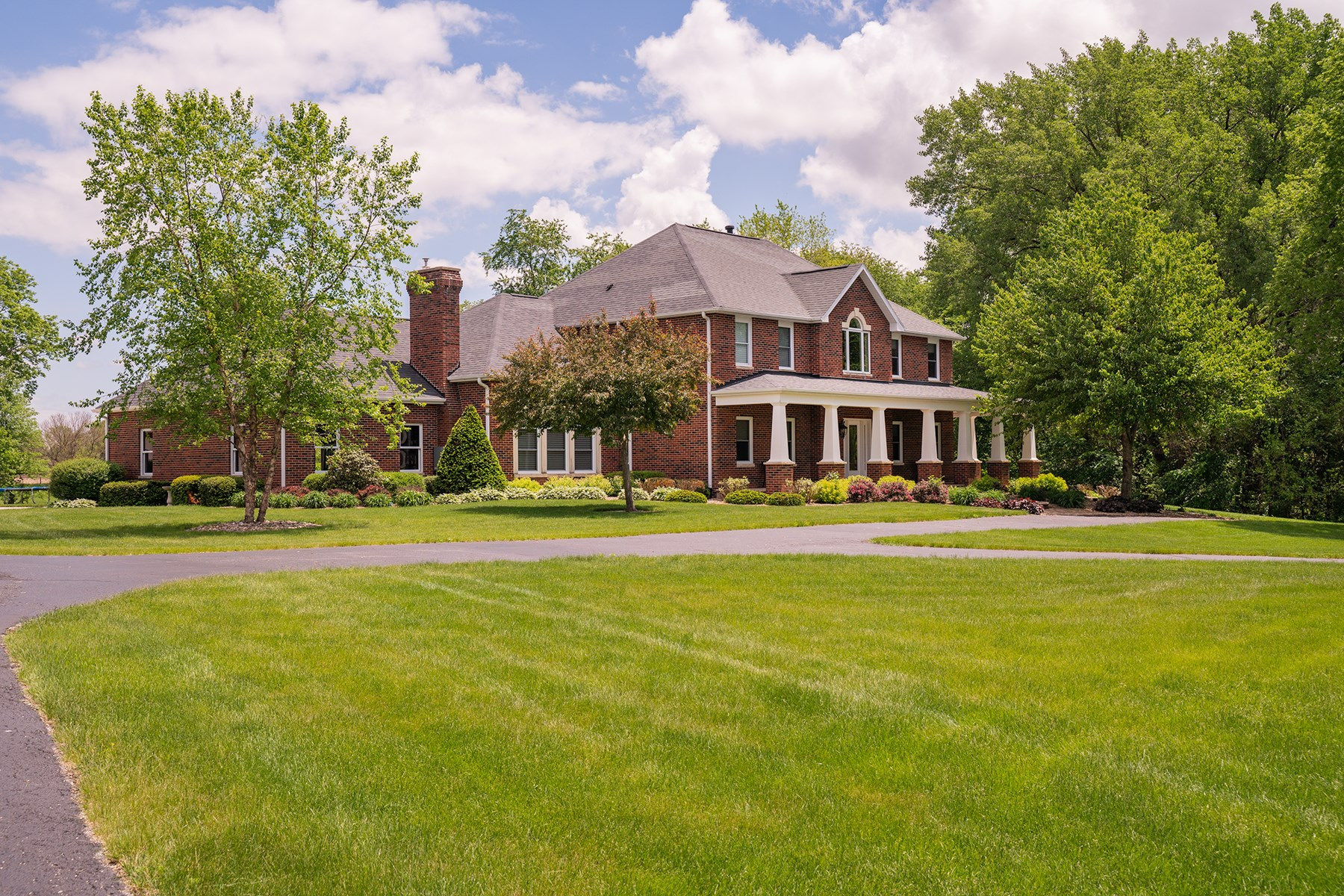 Stunning Executive Brick home on 20 acres