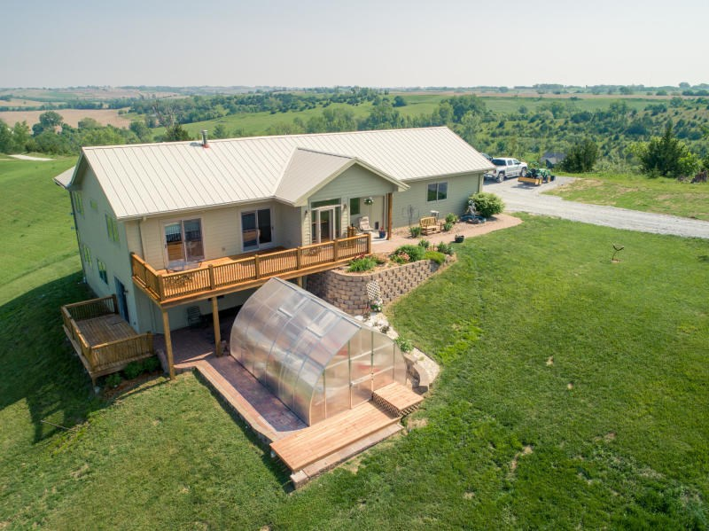 For Sale 4 bed home on 79.5 Acres Missouri Valley, Iowa