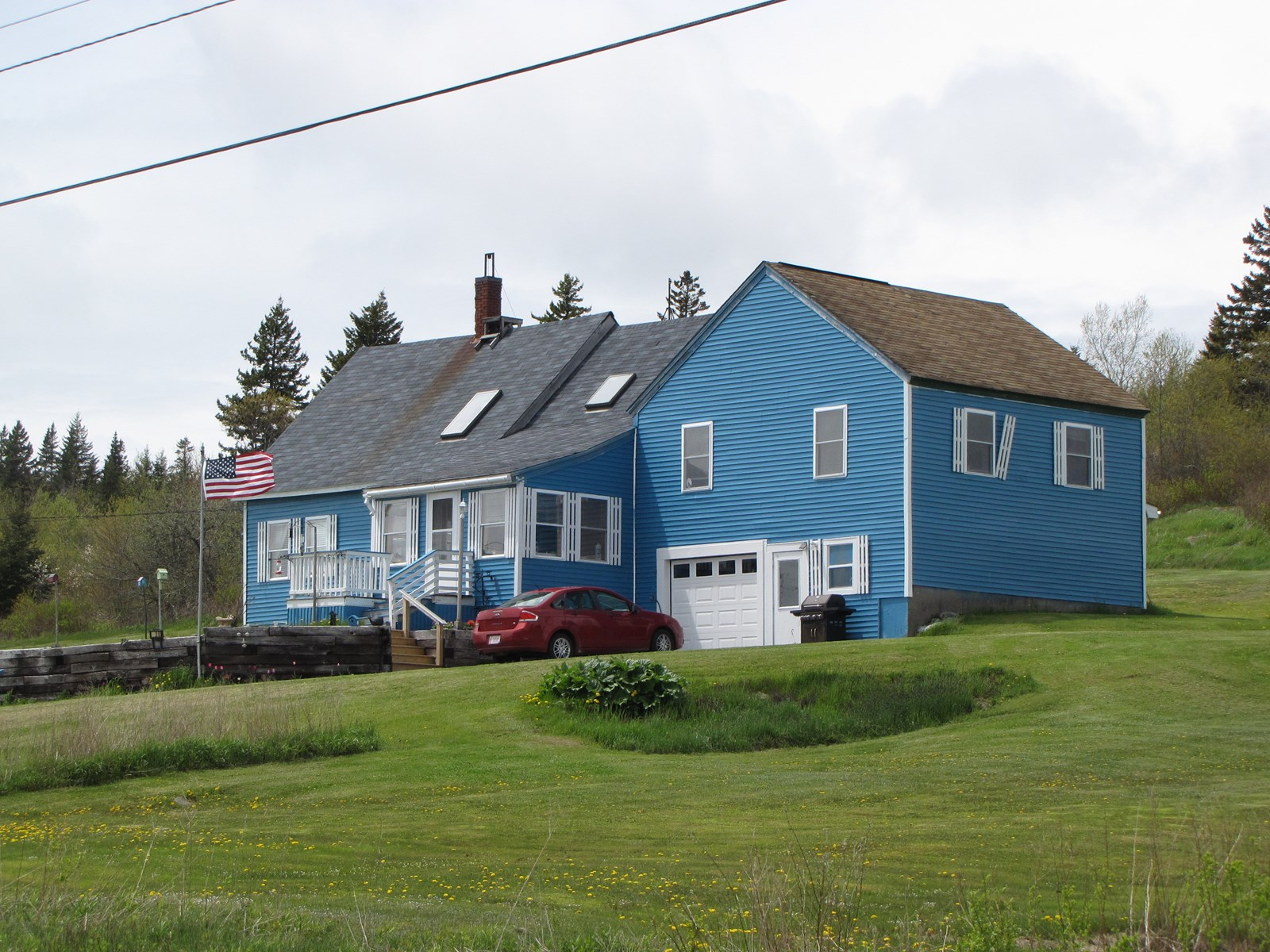 New England Farmhouse for Sale in Cutler, Maine