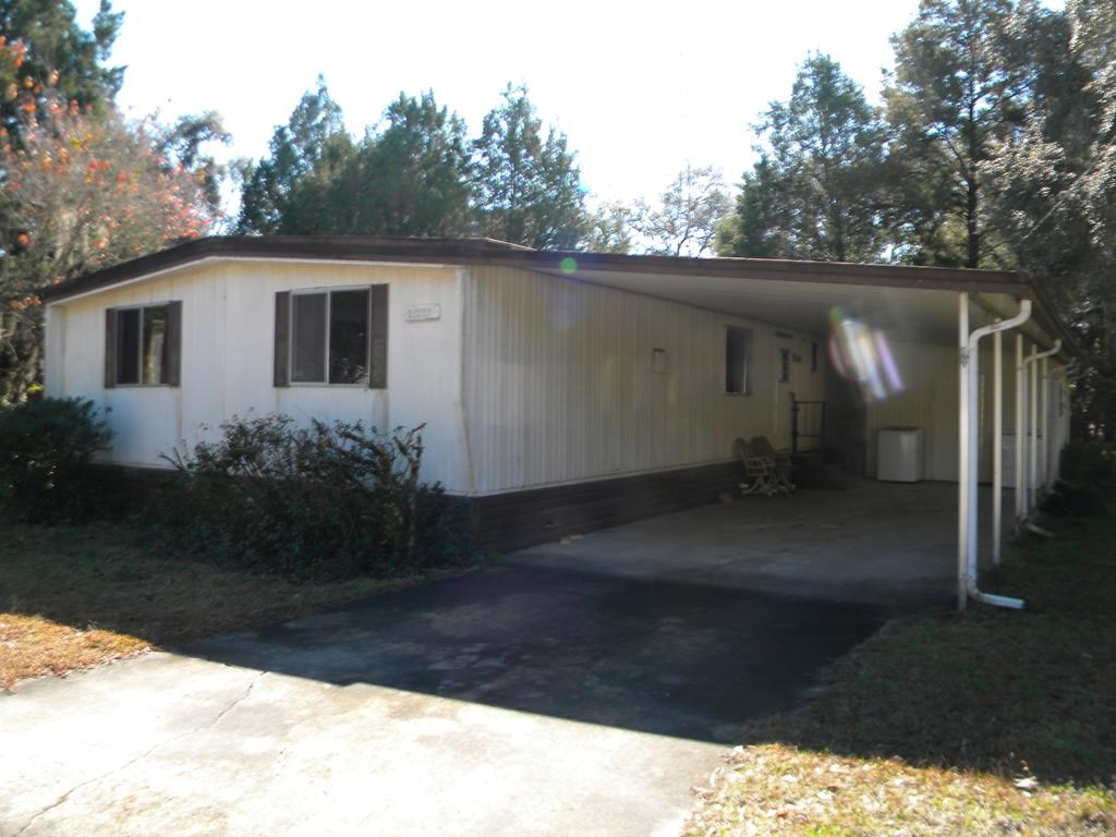 NORTH CENTRAL CHIEFLAND FLORIDA 3 BED/2 BATH DWMH HIDEAWAY