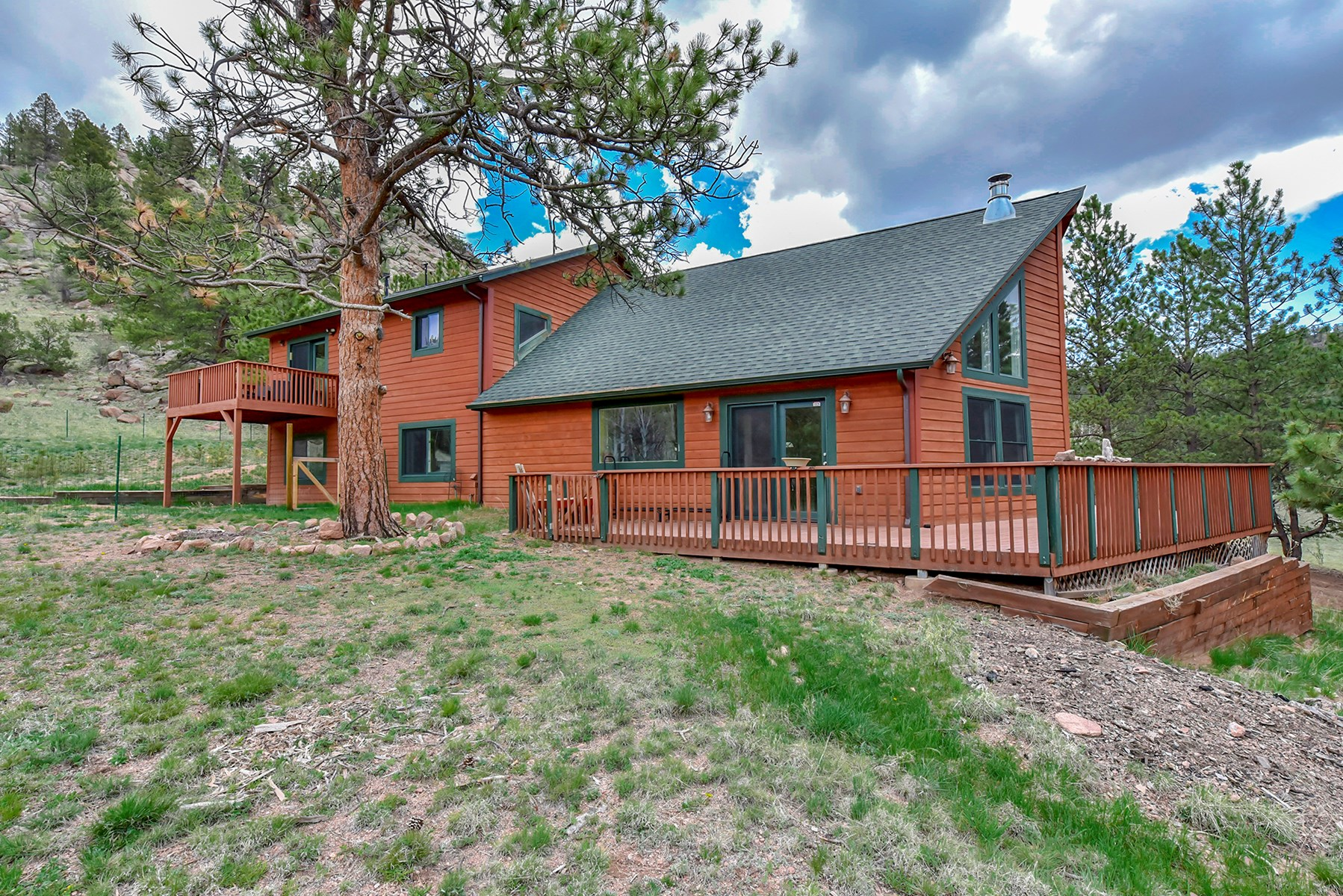 Secluded Mountain Home in Florissant, CO