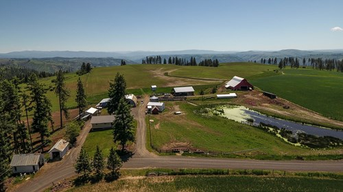 Farm & Ranch w. Country Home For Sale in North Central Idaho