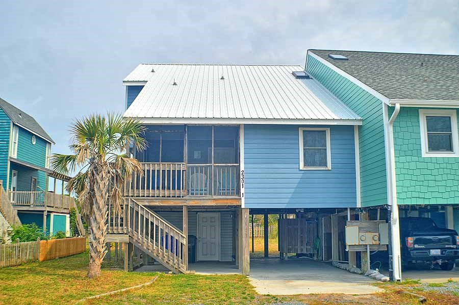 Oceanview Beach Cottage for Sale in North Topsail Beach