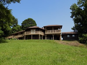 COUNTRY HOME FOR SALE IN MO, OUTBUILDING, ON MO RIVER BLUFFS