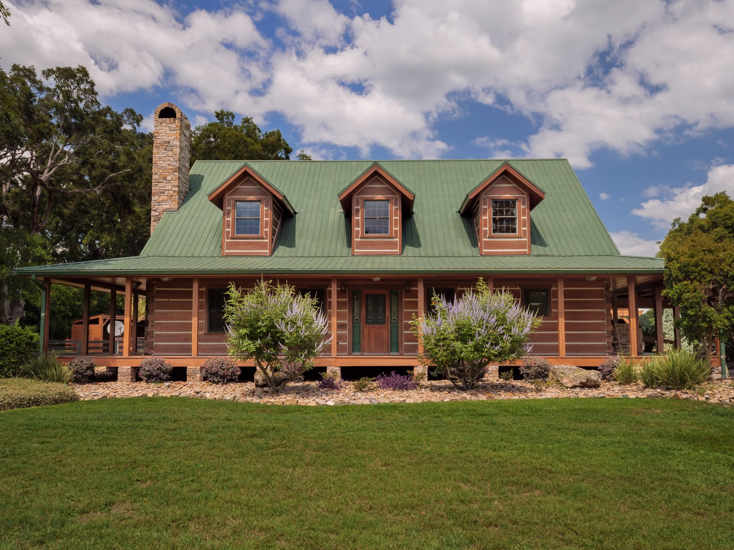 LOG CABIN HORSE FARM FOR SALE Williston Levy County Florida