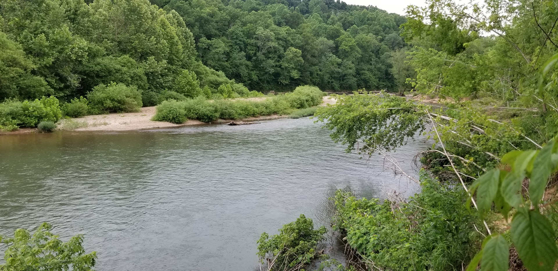 Buffalo River Front Property For Sale Lobelville TN