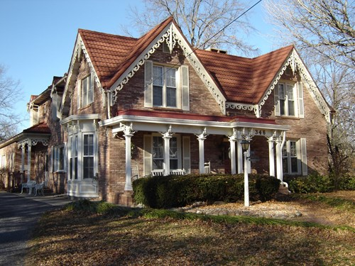 Beautiful historic home near Blackburn College
