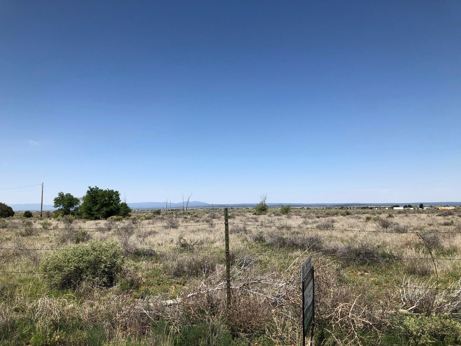 New Mexico 35 Acres For Sale in the Estancia Valley