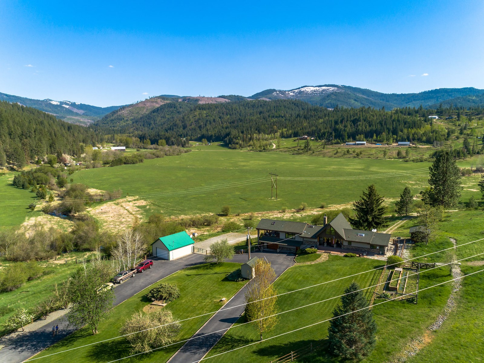 One of a kind horse ranch with take your breath away views