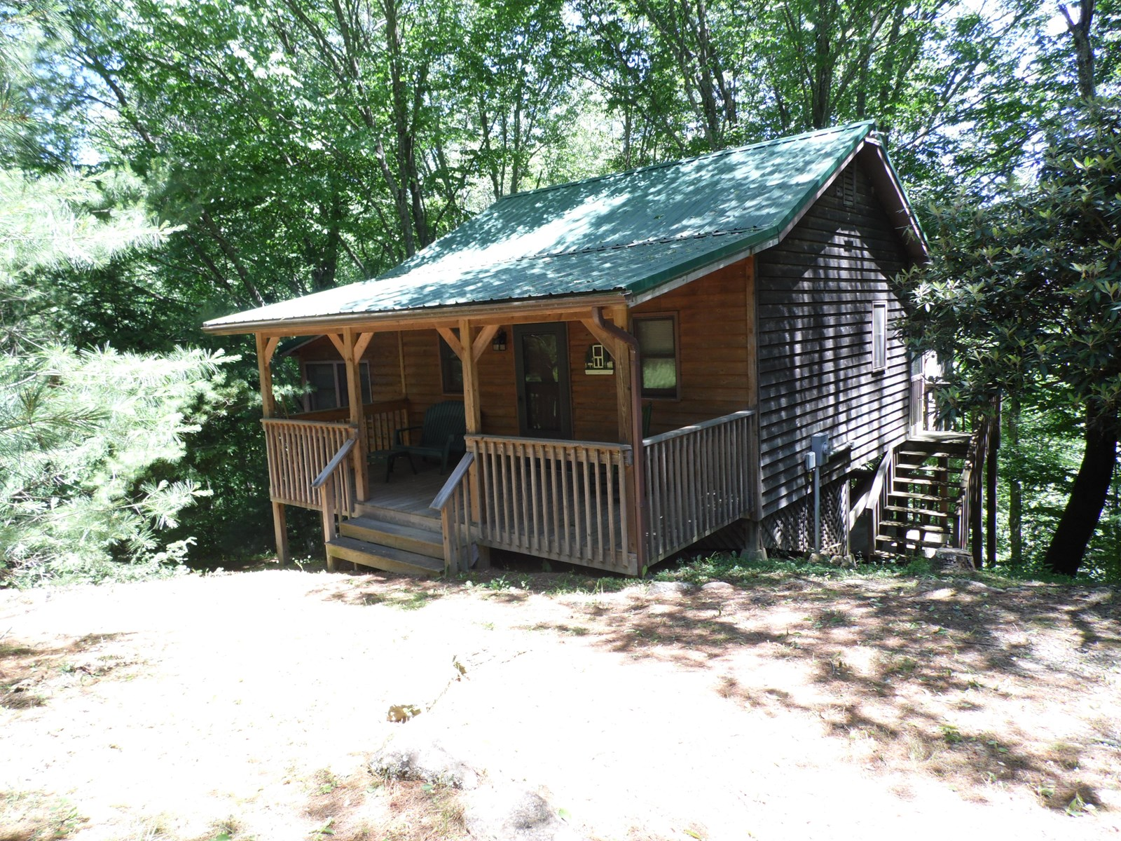 Home on Little River for Sale - Sparta NC