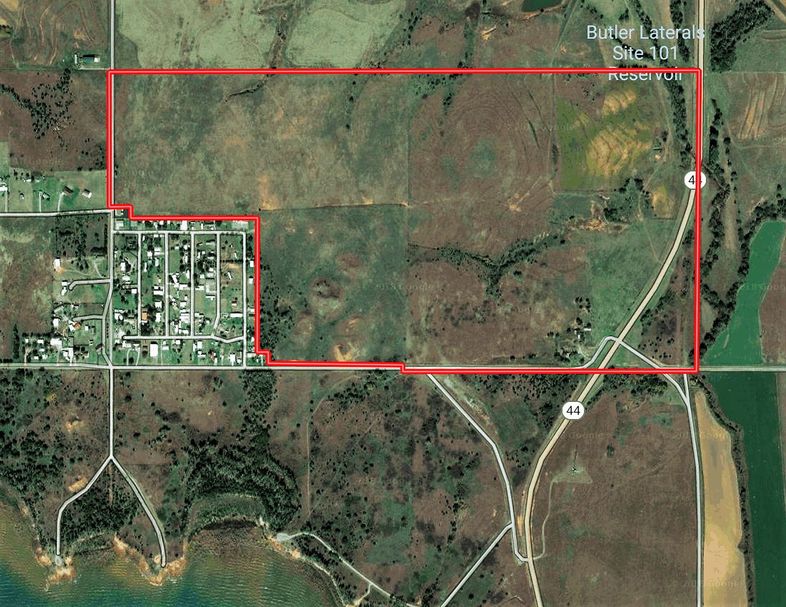 Oklahoma Hunting & Ranch Land ±75 Acres with Foss Lake View