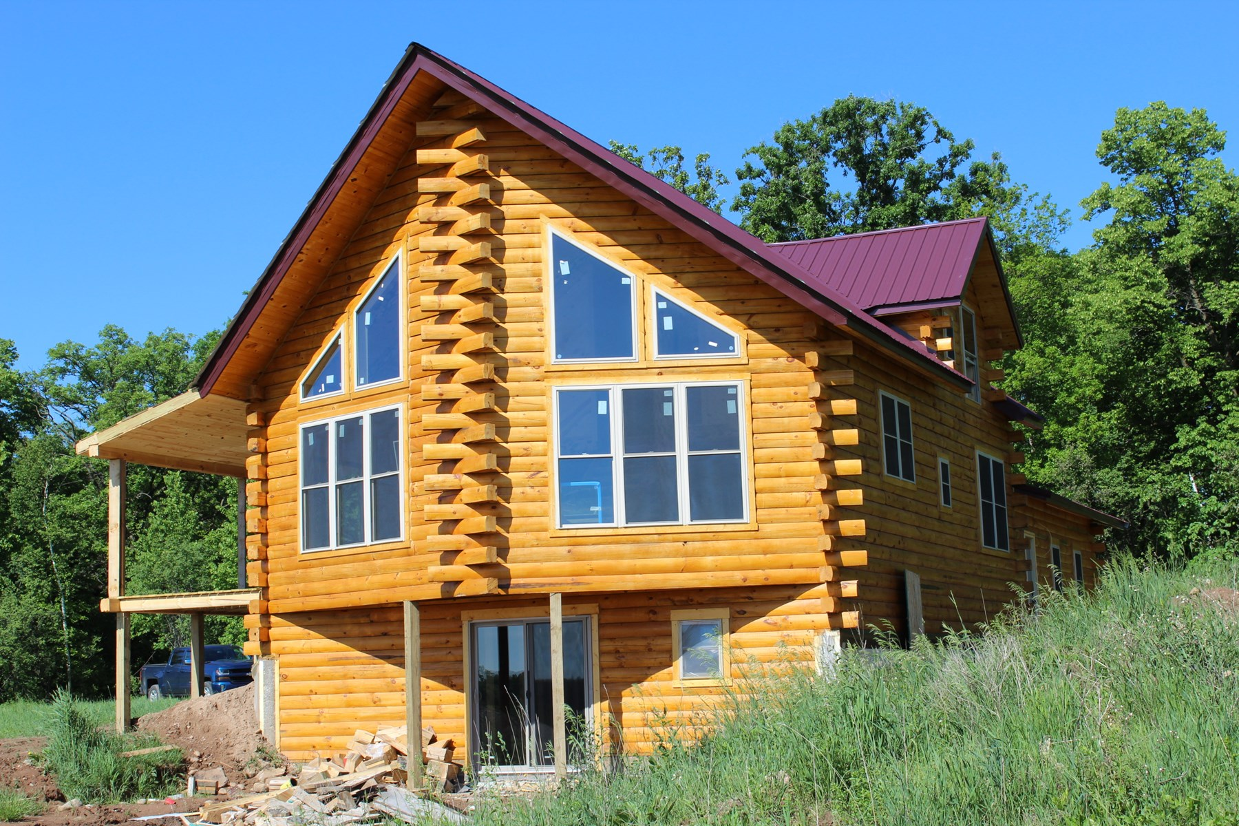 Mille Lacs County Log Home For Sale