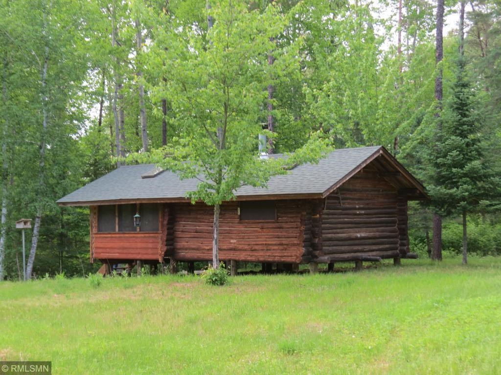 Log Cabin on Wooded Acreage, Access to the Kettle River, MN