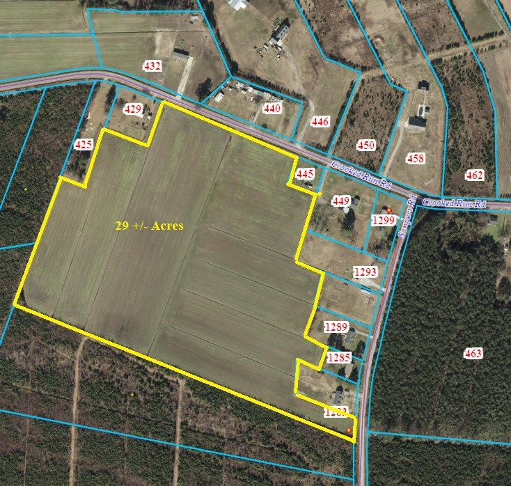 NC FARMLAND FOR SALE IN PASQUOTANK COUNTY-JUST OFF HWY 158