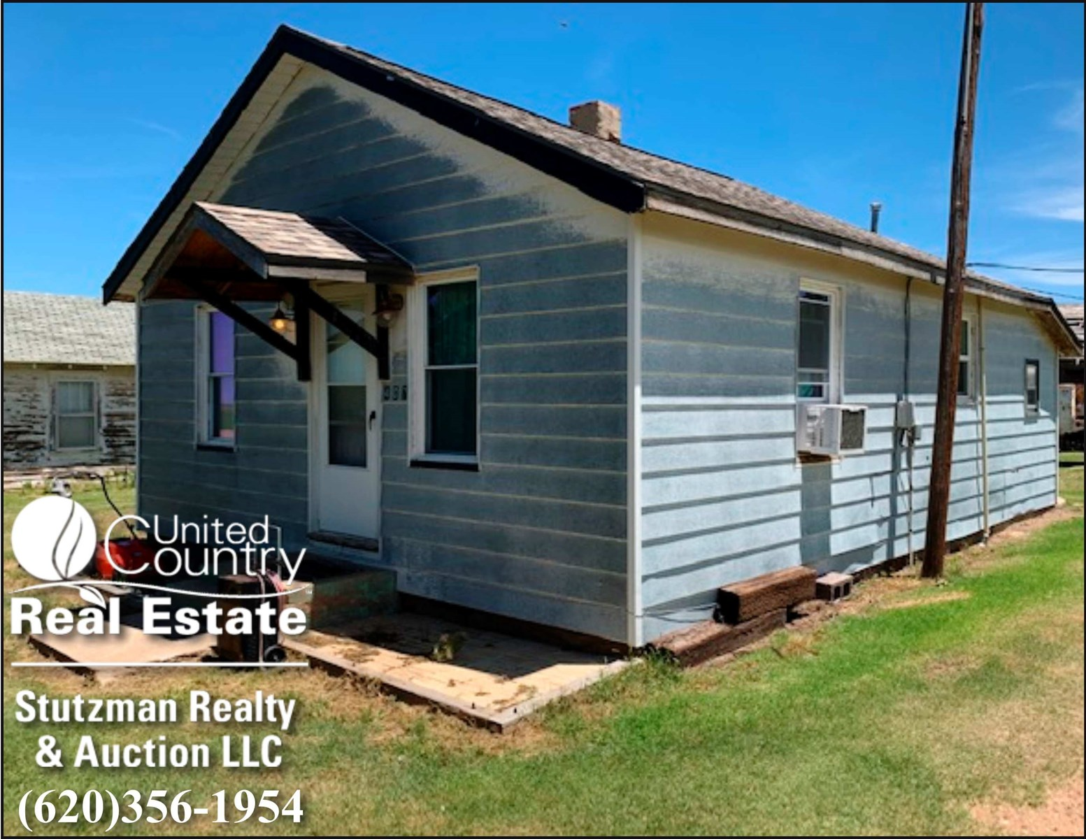 CHARMING HOME FOR SALE IN MANTER, KANSAS