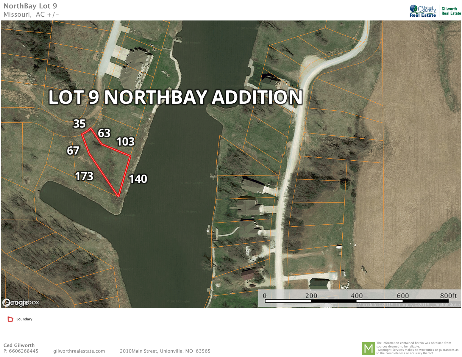 Waterfront Lot for Sale at Lake Thunderhead