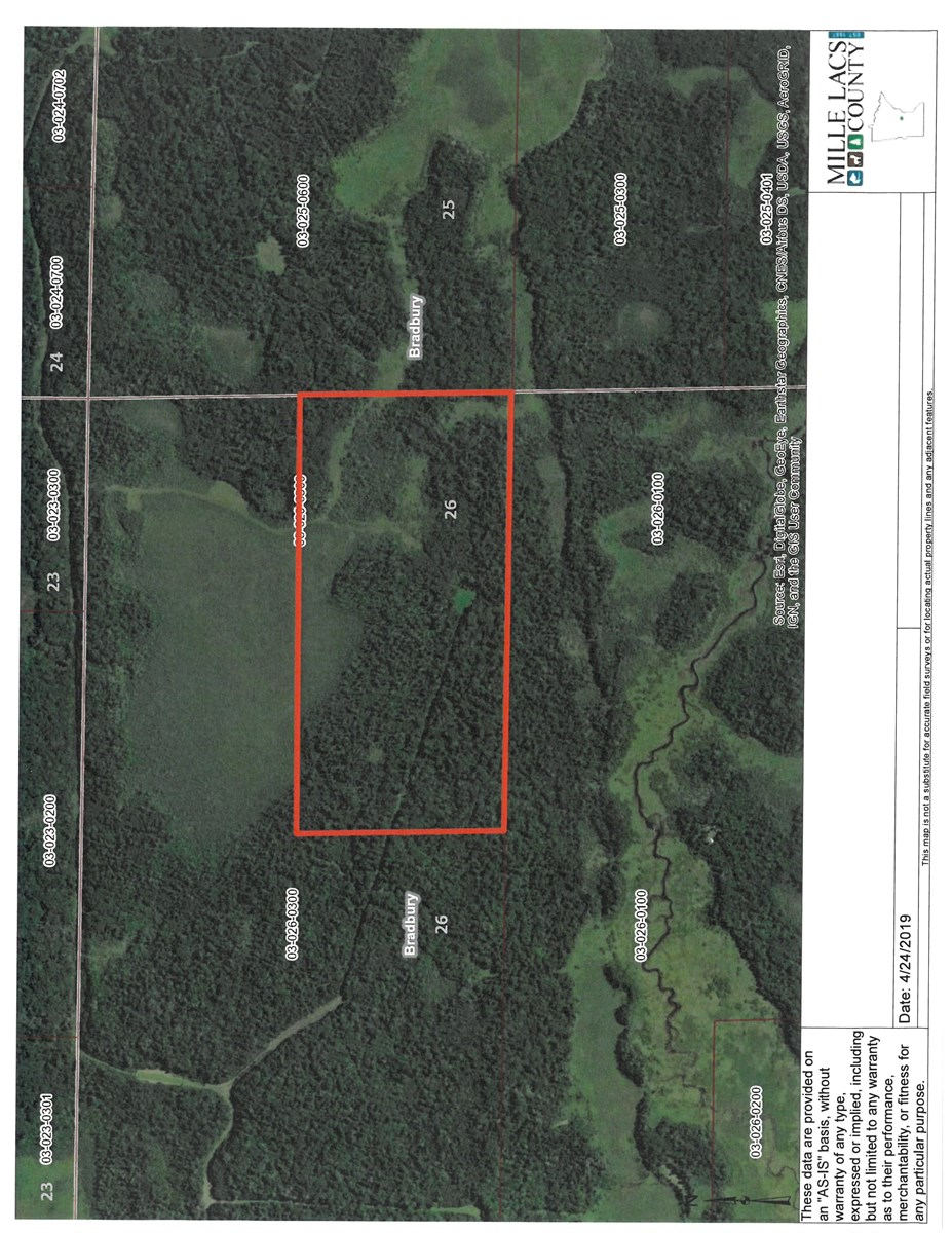 Mille Lacs County Hunting Land For Sale