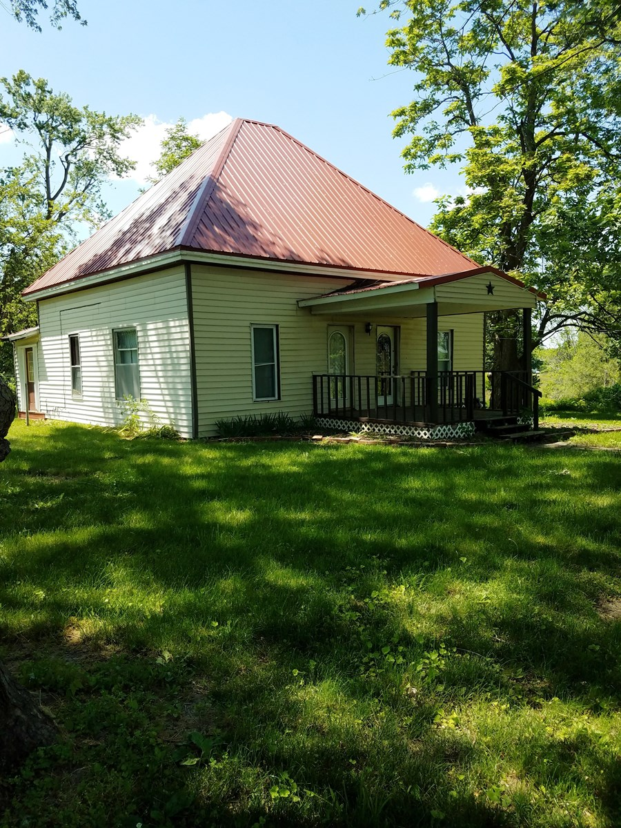 NORTHERN MO HOME FOR SALE, SMALL ACREAGE, SHOP SCOTLAND CO