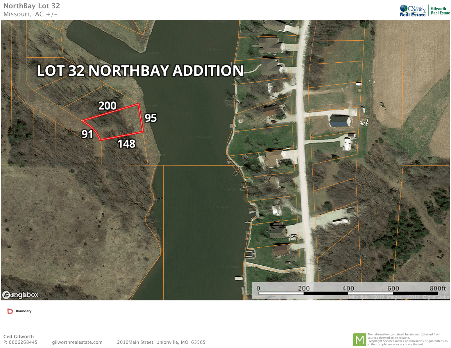 Waterfront Lot for Sale at Lake Thunderhead in North MO