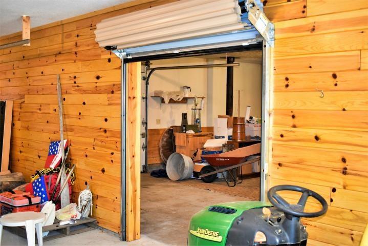 Garage Interior Roll-Up Door