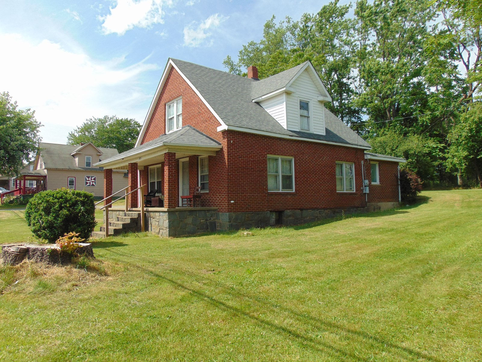 1950's Brick Home on Main Street Sparta for Sale
