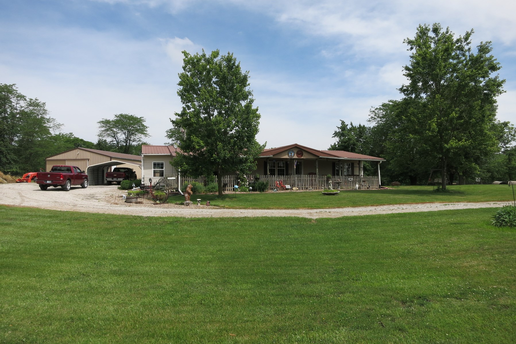 Ranch home in Rural Bethany Mo
