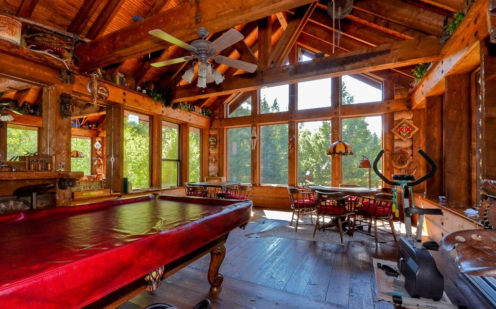 Colorado Luxury Riverfront Mountain Home For Sale