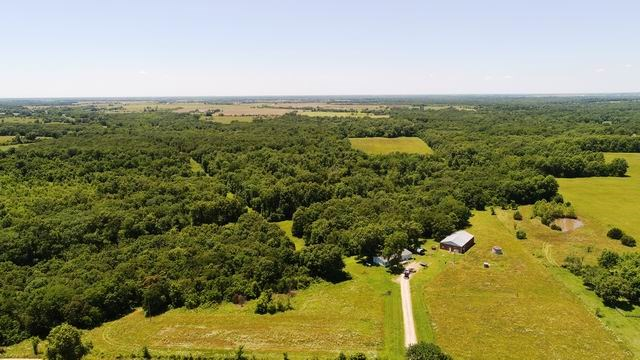 Hunting Land in Vernon County Missouri - Shop and 90 Acres