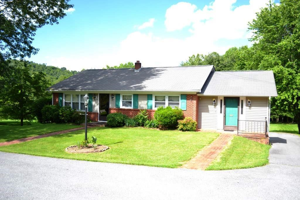 Creekside property with 3 bedrooms on 2+ acres in Atkins, VA