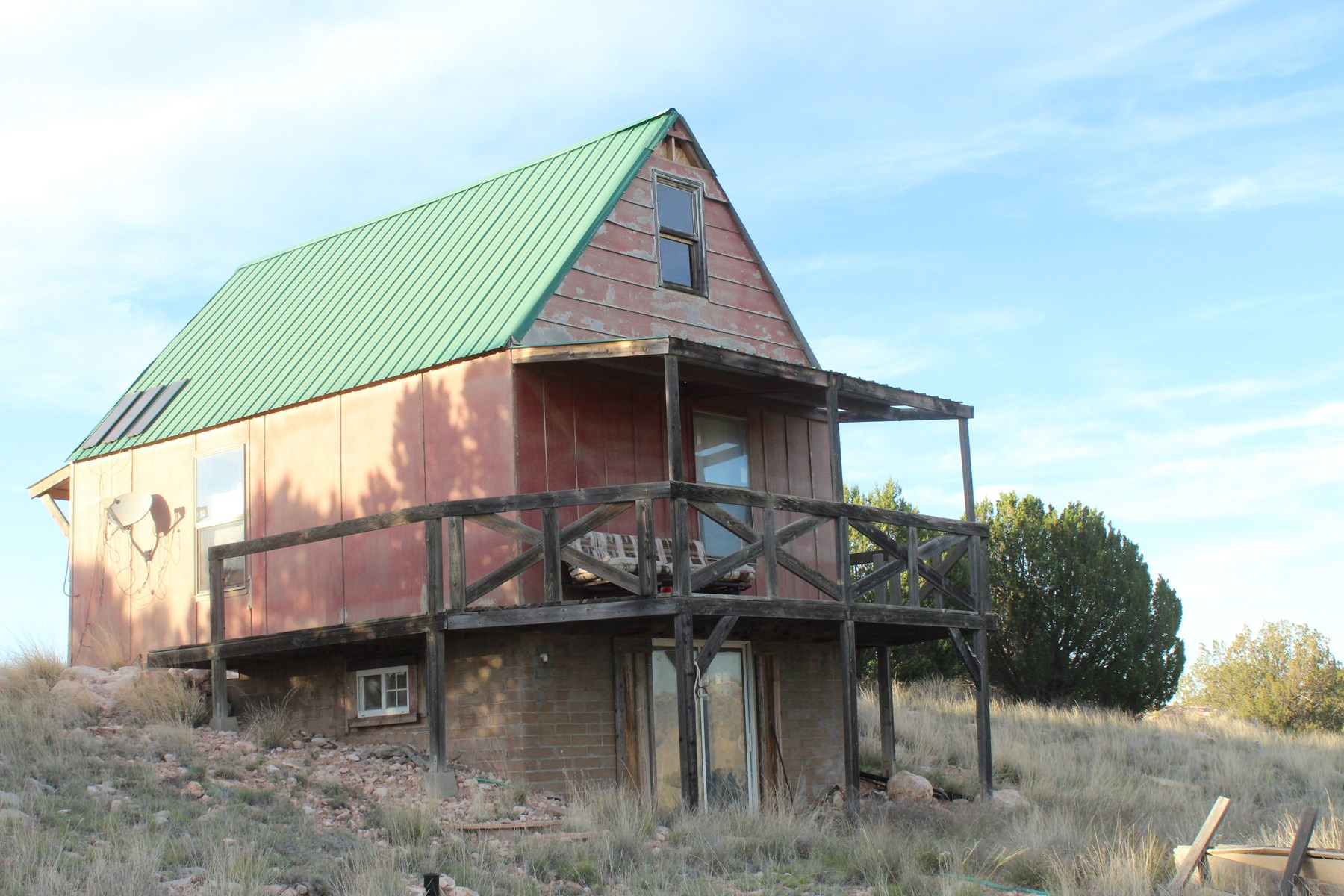 Cabin with Acreage on County Road for sale in Seligman AZ