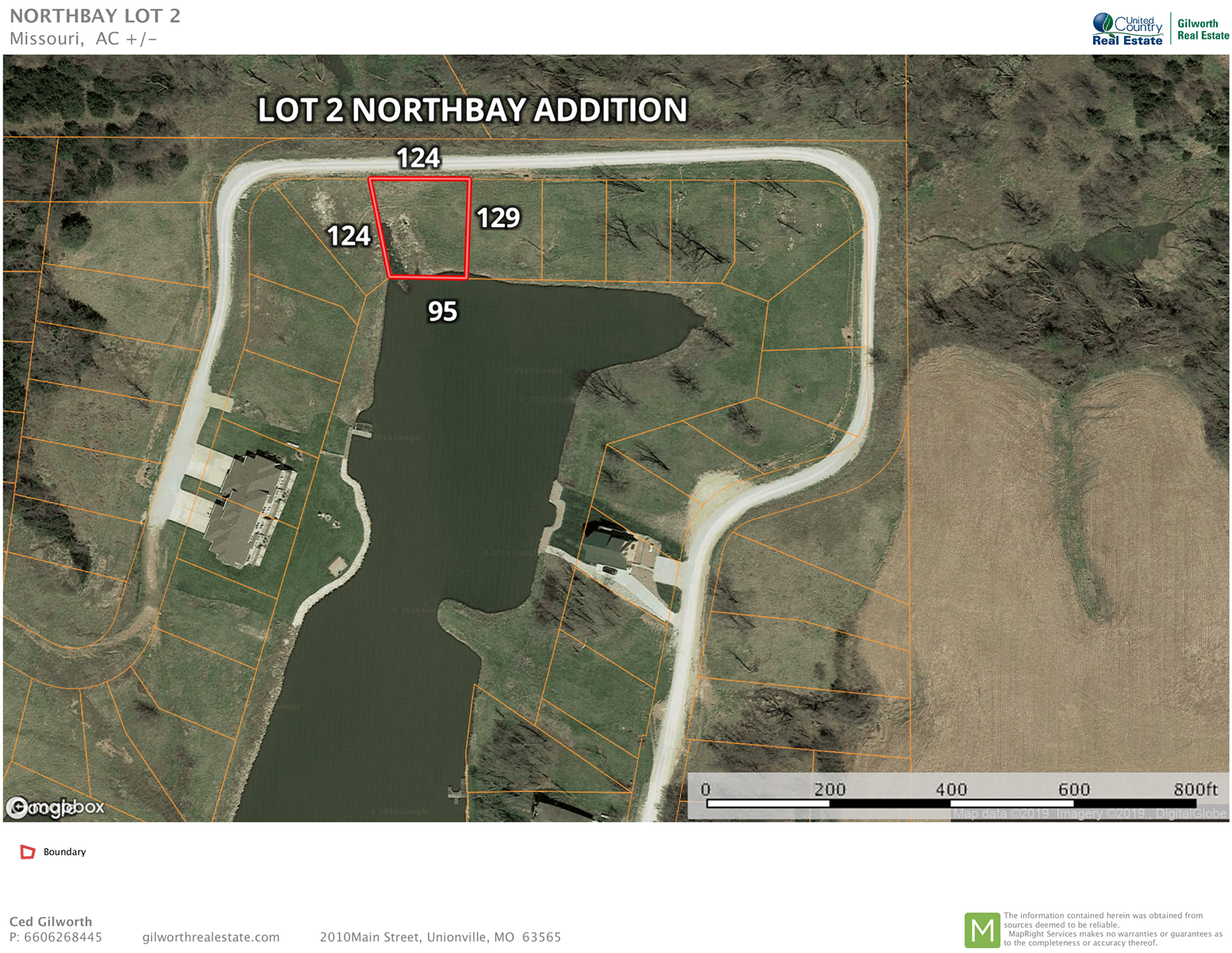 Lake Thunderhead Waterfront Lot For Sale