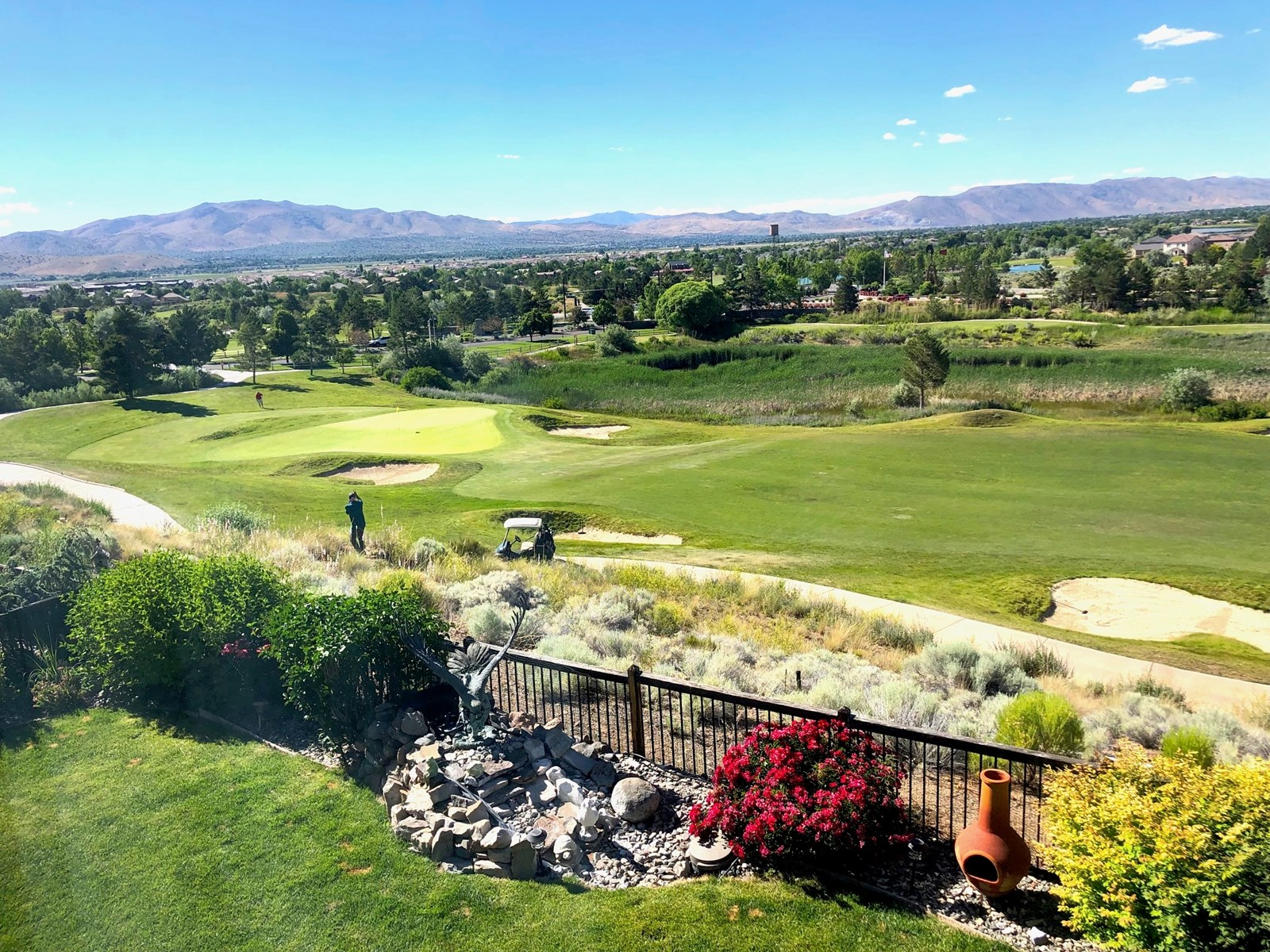Home on Golf Course for sale in Nevada- Red Hawk Golf Course