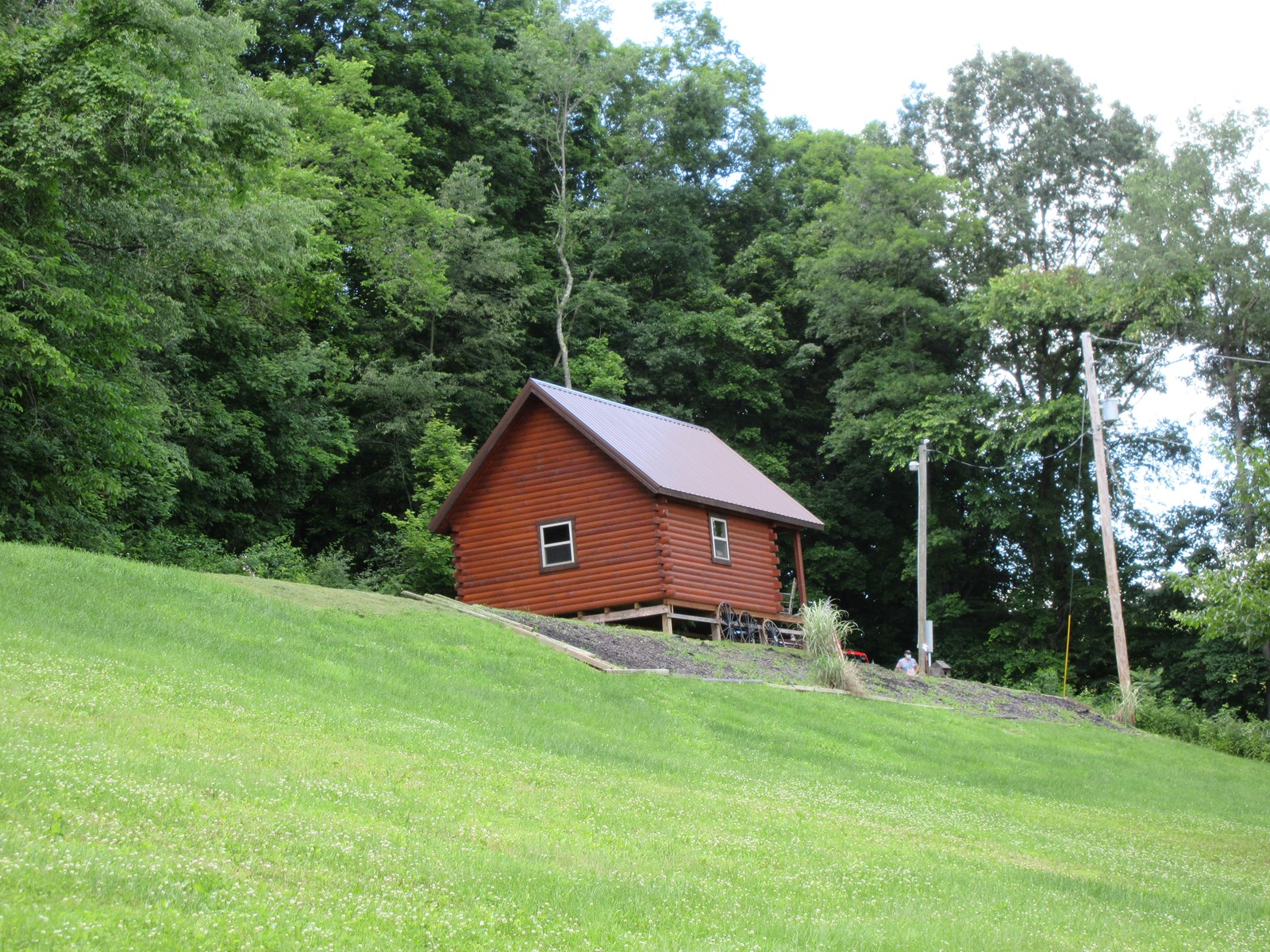 Eastern Ohio Log Cabin Retreat and Hunting Land