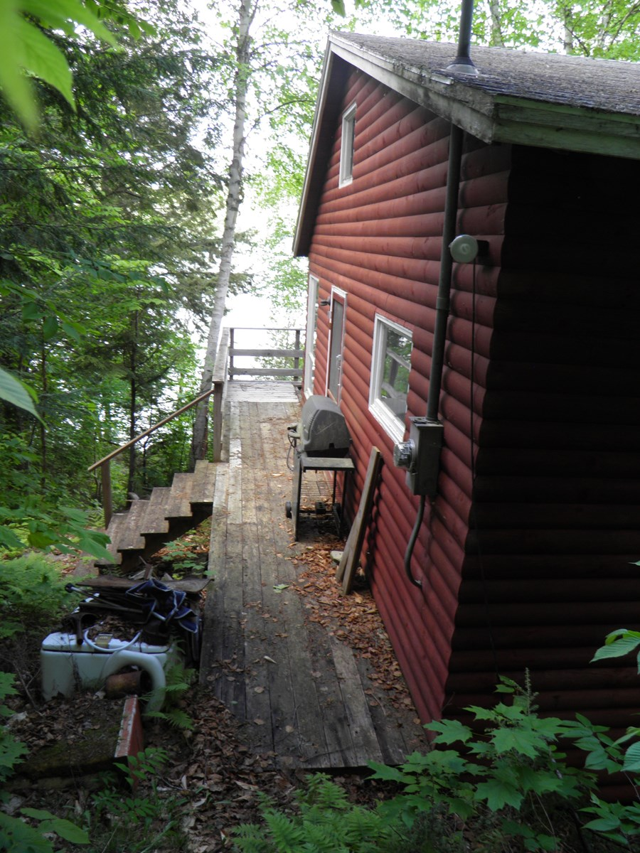 Lakefront Camp for Sale in Island Falls, Maine