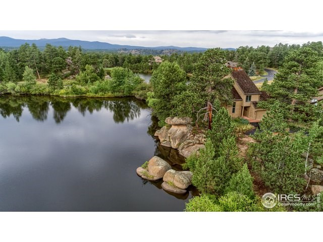 Lakefront Mountain Homes For Sale Colorado Red Feather