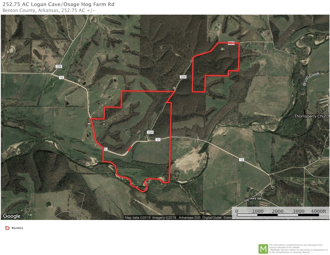 Homes with acreage on Osage Creek near Siloam Springs