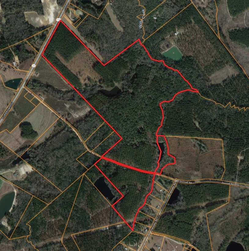 37+/- Acre Wooded Tract Located in Metter, GA