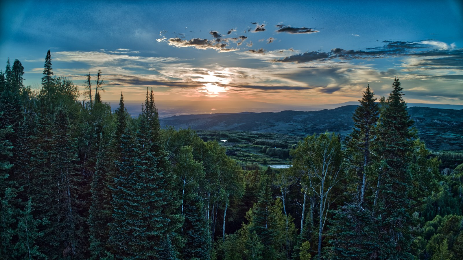 Colorado Mountain Property with hunting and great views