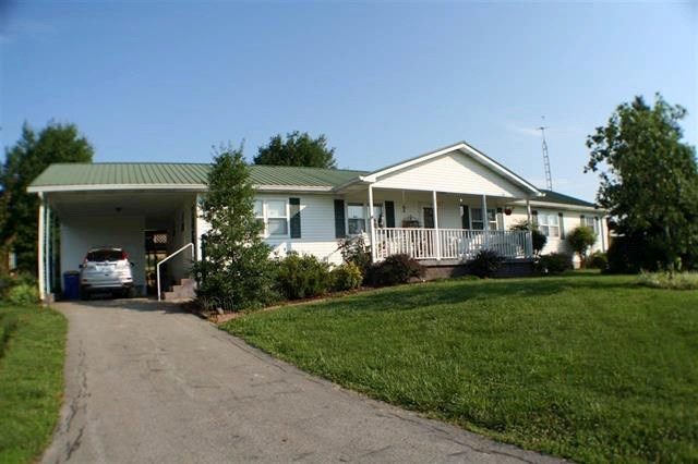 3 bedroom 2 bath home & 21 acres for sale in Edmonson Co.Ky.
